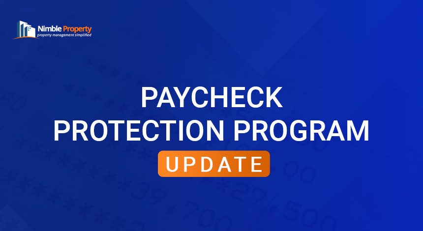 Paycheck Protection Program Update by SBA